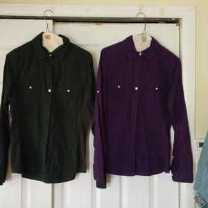 Bottom down blouses